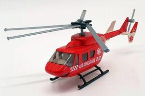 Siku 1/55 Scale 2228 - ADAC Helicopter Ambulance - Red