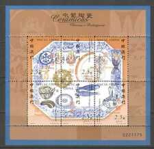 Macau 2000 Ceramics/Vase/Pot/Plate 6v s-t shtlt n22075