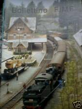 Bollettino FIMF treni 1988 161 Locomotiva 6032 FS
