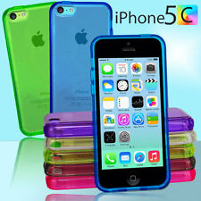 NEW 6 Colour Premium Jelly Case Cover for iPhone 5c 5 c + Screen Guard