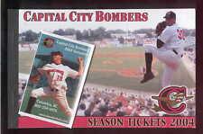 LAST SEASON Unused Ticket Book 2004 CAPITAL CITY BOMBERS Columbia South Carolina