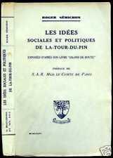 R. Semichon:IDEES SOCIALES ET POL. de LA-TOUR-DU-PIN