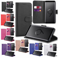 Wallet Case For Samsung Galaxy S8 S9 S10 S20 Plus S7 Leather Cover Book Phone UK