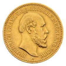 HMM - Schwerin Friedrich Franz II. 1842-1883 10 Mark 1878 A J. 231 - 170911055