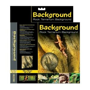 Exo Terra Terrarium Rock Background Decoration for Reptile Snake Lizard Vivarium