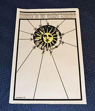 1979 Original Cuban Silkscreen Movie Poster.A VEry hot summer.Czech art film.