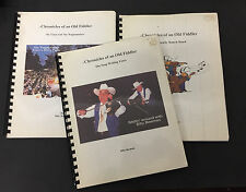Chronicles Old Fiddler books Billy Beaman Beeman Wagonmasters Knotts Berry Farm