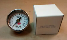 "1-1/2"" Face Pressure gauge 0-15 psi 1/8 NPT Back Connection 15W1005S - Fast Ship"