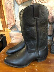Ariat Heritage Western Men's 13 Wide 10002218 13-Inch Cowboy Boots Black