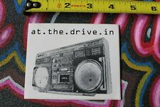 AT THE DRIVE IN Radio Boombox Punk Rock Cassette Speaker M1 MISC MUSIC STICKER