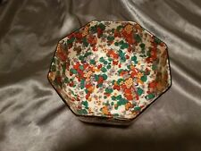 RARE Crown Ducal Ware England Octagon Shaped Serving Bowl