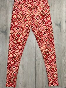 Disney Lularoe Pink Minnie Mouse TC Leggings BNWT