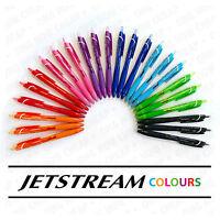 Uni-Ball Jetstream Colours - Retractable 0.7mm Rollerballs - SXN-150C