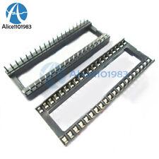 10PCS 40 pin DIP IC Socket Adaptor Solder Type Socket Pitch Dual Wipe Contact