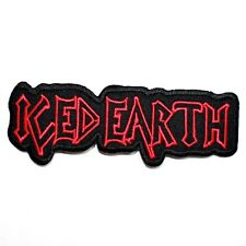 ICED EARTH Trash Heavy Metal Hard Rock Music band Jacket T-Shirt Iron on Patch