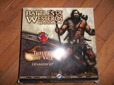Fantasy Flight Games Battles of Westeros Tribes of the Vale Expansion Set