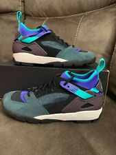 New Nike Air Revaderchi QS ACG Sz 6 Sz 7.5 Women's AR0479 003 Black & Jade