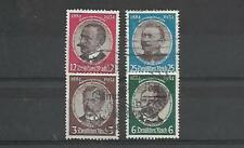 GERMANY STAMPS #432-435 SET OF 4 (USED) FROM 1934.