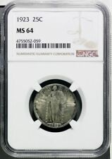 1923 Standing Liberty Quarter NGC MS 64