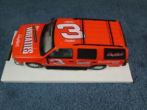 Dale Earnhardt #3 1997 Chevy Tahoe Brookfield LE 1/5000 Diecast COA  1:25 Mint50