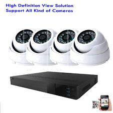 4Channel 4-in-1 TVI Analog IP Camera DVR 1800TVL  Sony CMOS CCD Security Camera