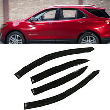 4pcs For 2018-2019 Chevrolet Equinox Sun Rain Guard Vent Shade Window Visors