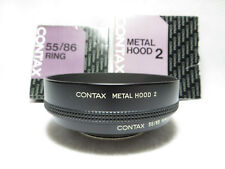 【MINT】CONTAX METAL HOOD 2 w/ 55/86 Ring From Japan #129