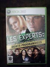 Juego xbox 360  CSI:  LES EXPERTS