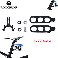 RockBros Cycling MTB Bicycle Race Holder Number Bracket  New 2017 Hot Sell