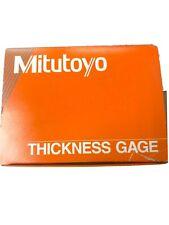 Mitutoyo Thickness Gage 7321