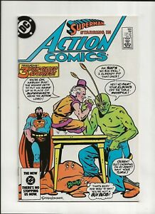 Action Comics #563 (1984) High Grade NM 9.4