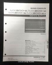 Original Yamaha / MX200 -8 -12 -16 -24 Mixing Console / Service Manual