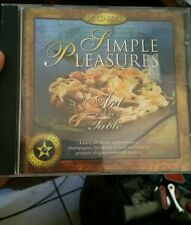 SImple Pleasures (Food) Art De La Table PC CD ROM - FREE POST
