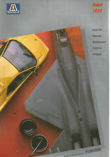 CATALOGUE ITALERI 1992 - MAQUETTES CHARS / AVIONS / BATEAUX / CAMIONS / VOITURES