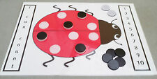 LADYBIRD COUNTING GAME...fun game with games counters eyfs sen class childminder