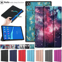 For Lenovo Tab M10 FHD Plus TB-X606F 10.3 Patterned Tablet Smart Flip Case Cover