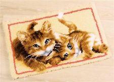 """Vervaco Knüpfteppichpackung """" Katzen """"  PN-0145610"""