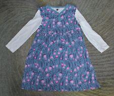 Tea Collection Girls Long Sleeve Dress - Size 7 - EUC