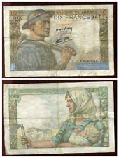 10 francs MINEUR  22/06/1944   ( O 82)  ( 96738 )