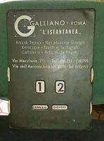 CALENDARIO PERPETUO pubblicitario galliano roma listantanea.  come da foto