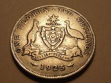 #2456 Australia; 1 Florin 1925