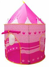 ValueWay Princess Castle Indoor/Outdoor Use Girls Pink Toy Play Tent Playhouse
