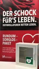AED Defibrillator Wandschrank Wandkasten mit Alarmfunktion #10670
