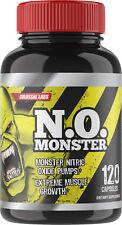 Nitric Oxide Extreme Complex 3050 mg L-Arginine AAKG 120 Capsules No Monster