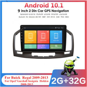 """For Opel Insignia 2008-2013 9"""" Android 10.1 32GB Car Stereo Radio GPS Navigation"""
