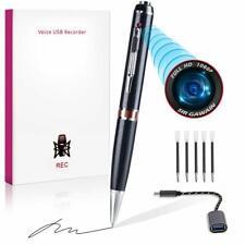 📷 Mini Hidden Spy Camera Pen HD 1080P Video Recorder Clip On Body Portable Cam