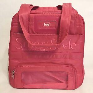 Lug Puddle Jumper Smart Style Logo Lightweight Overnight Gym Travel Bag Pink