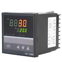 New AC 100-240V Digital Temperature Controller Thermostat Control REX-C900