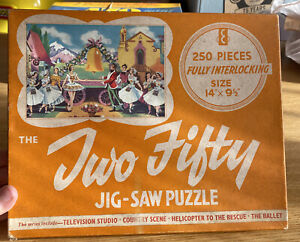 Vintage Langley Series 250 Piece Jigsaw Puzzle The Ballet
