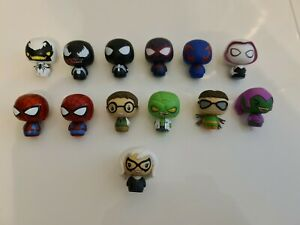 FUNKO PINT SIZE HEROES - MARVEL SPIDERMAN COMPLETE COLLECTION PLUS METALLIC...